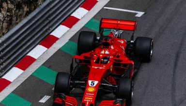 Vettel Ferrari Monaco GP F1 2018 hairpin Photo Ferrari