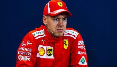 Vettel Ferrari Monaco GP F1 2018 press Photo Ferrari