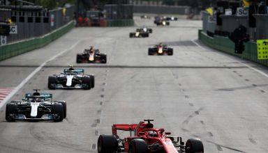 Vettel leads Hamilton Bottas Azerbaijan GP F1 2018