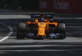 Alonso McLaren MCL33 Canadian GP F1 2018 Photo McLaren