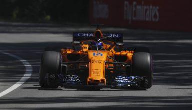 Alonso McLaren MCL33 Canadian GP F1 2018 Photo McLaren