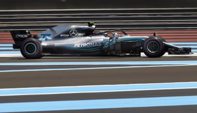 Bottas Mercedes French GP F1 2018 ultrasoft Photo Daimler