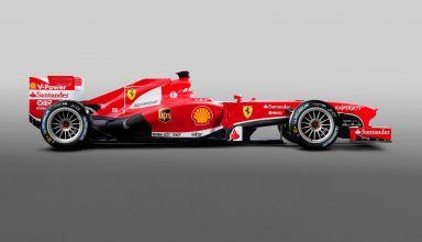 Ferrari F1 car 18 inch wheels Michelin