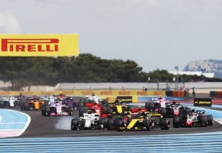 French GP F1 2018 race Photo Pirelli