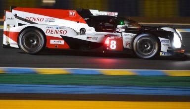 Nakajima Toyota Le Mans 24h WEC 2018