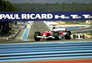 Paul Ricard Toyota TF107