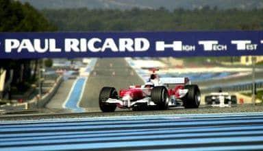 Paul Ricard Toyota TF107