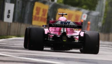 Perez Force India Canadian GP F1 2018 Photo Force India