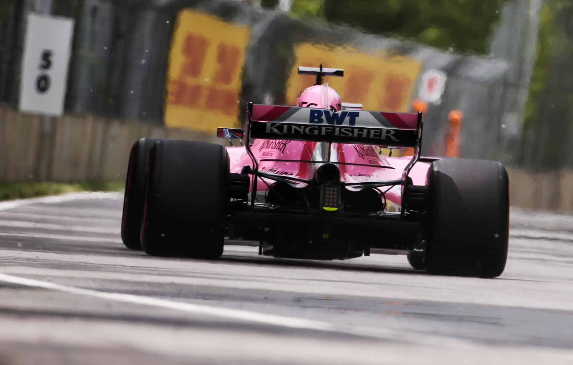 2018 Canadian GP – Perez set new top speed record in F1 2018