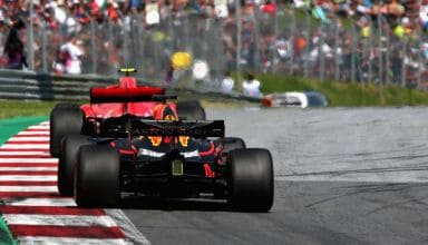 Raikkonen leads Verstappen Austrian GP F1 2018 Photo Red Bull