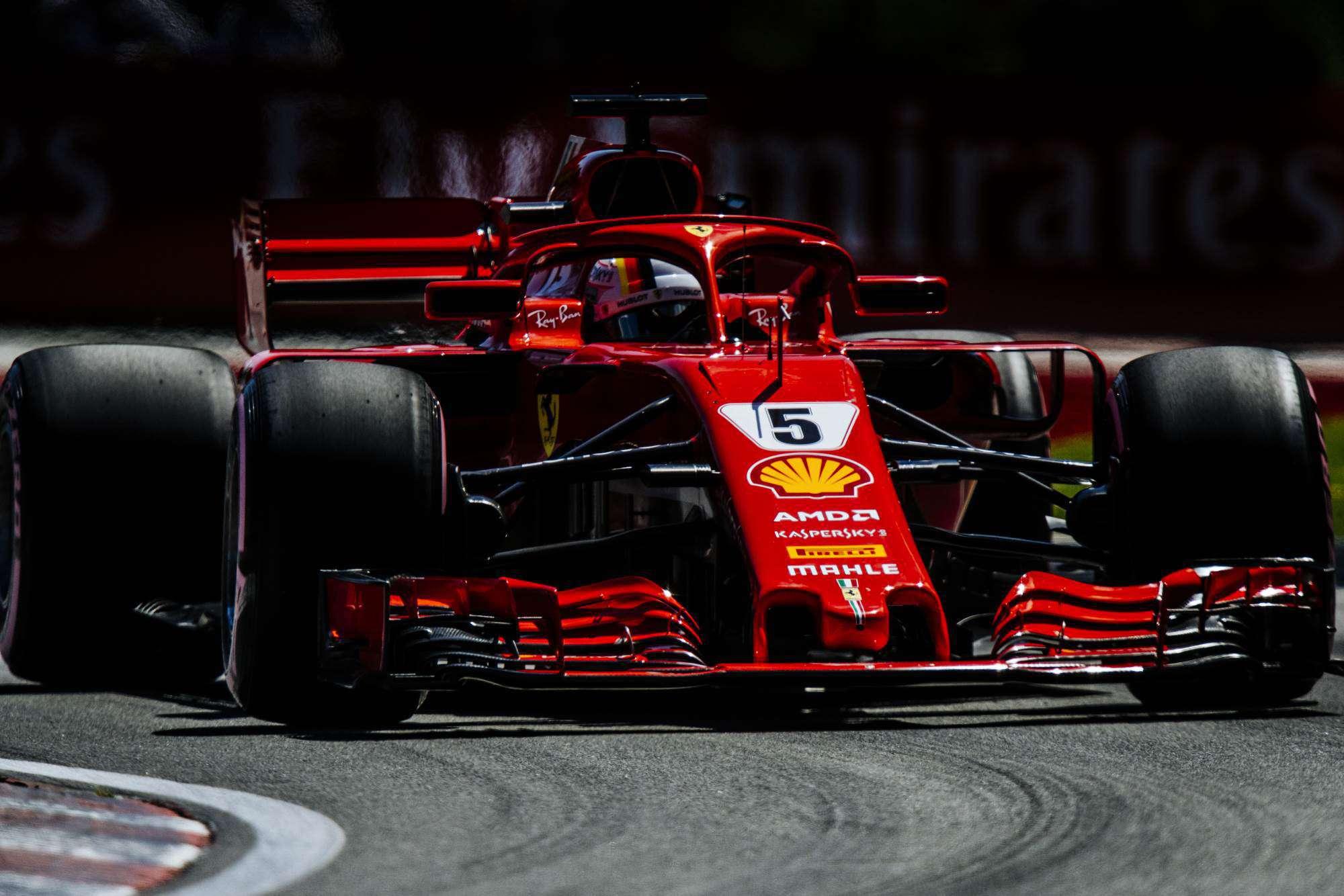 Sebastian Vettel Ferrari SF71H Canadian GP F1 2018 Photo Ferrari