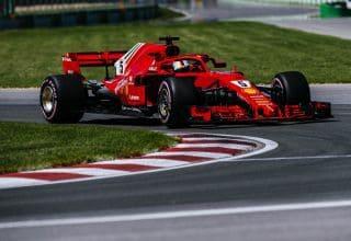 Sebastian Vettel Ferrari SF71H Canadian GP F1 2018 hypersoft Photo Ferrari