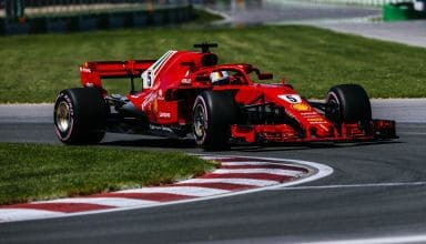 Sebastian Vettel Ferrari SF71H Canadian GP F1 2018 hypersoft Photo Ferrari