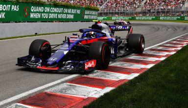 Toro Rosso Honda F1 2018 Canadian GP Photo Red Bull