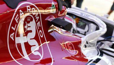 Alfa Romeo Sauber C37 German GP F1 2018 engine cover Ferrari 062 EVO Photo Sauber