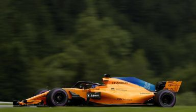 Alonso McLaren MCL33 Austrian GP F1 2018 Photo McLaren