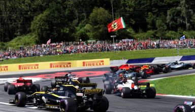 Austrian GP F1 2018 first lap chaos Photo Renault