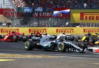 Bottas Mercedes W09 British GP F1 2018 soft race Photo Daimler