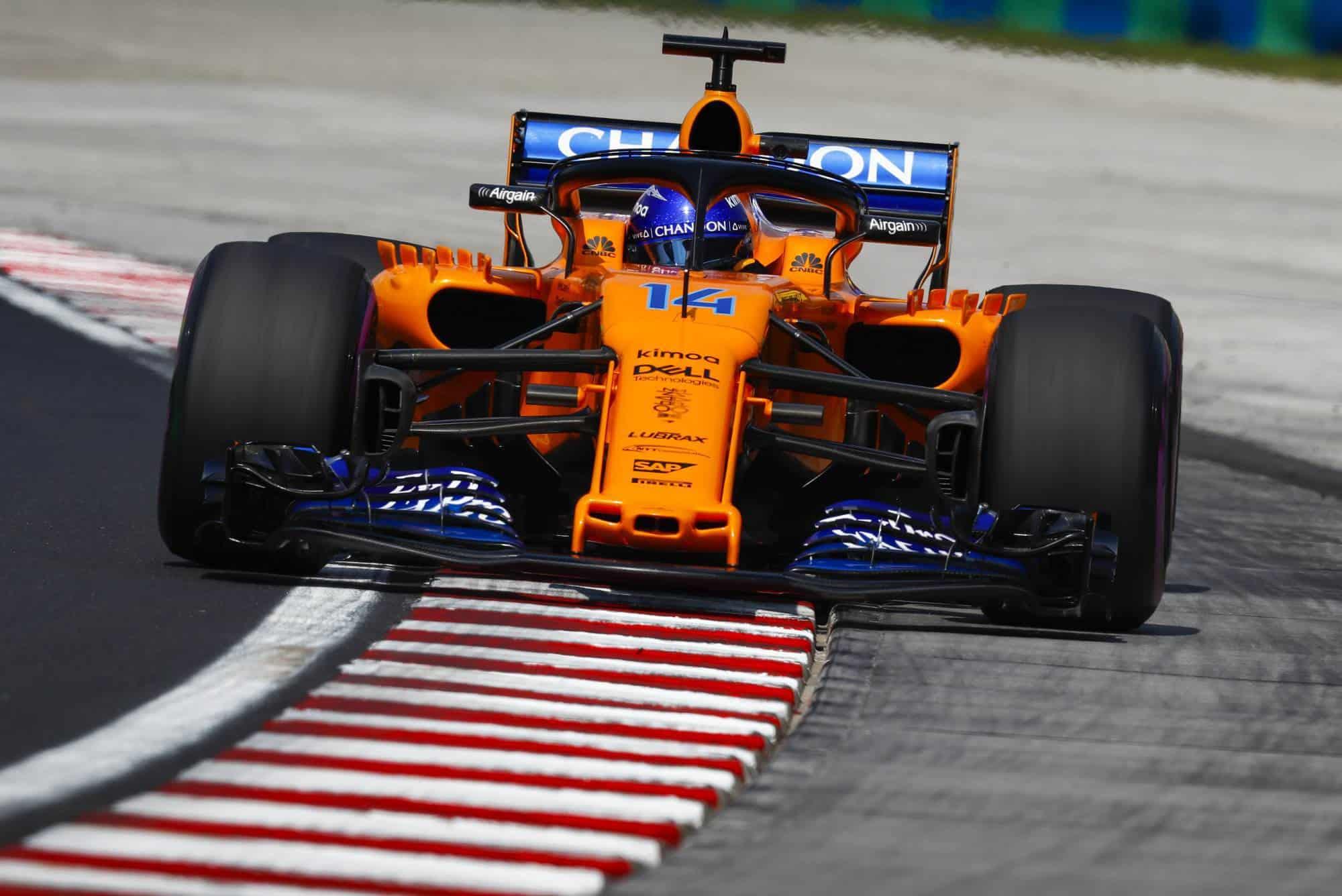 Fernando Alonso McLaren Hungarian GP F1 2018 Photo McLaren