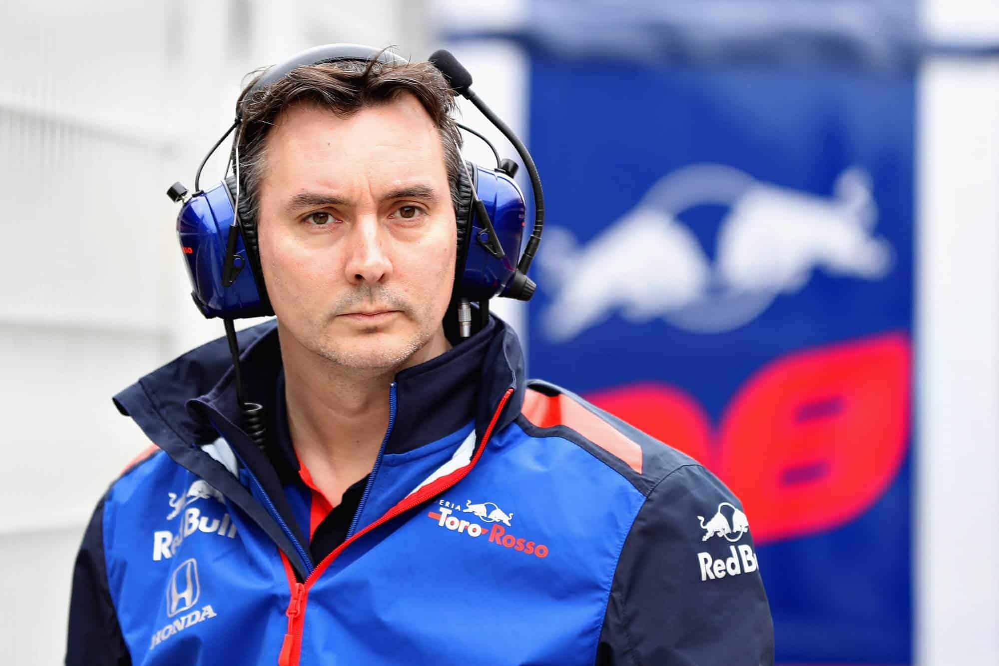 James Key Toro Rosso Honda F1 2018 Photo Red Bull