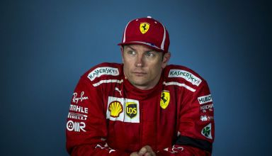 Kimi Raikkonen Ferrari Hungarian GP F1 2018 post race press conference Photo Ferrari