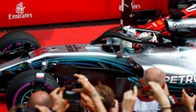 Lewis Hamilton Mercedes W09 German GP F1 2018 win Photo Daimler F1