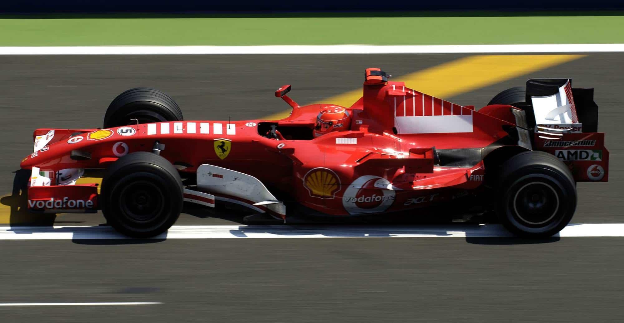 Michael Schumacher Ferrari F248F1 French GP F1 2006 Photo Ferrari
