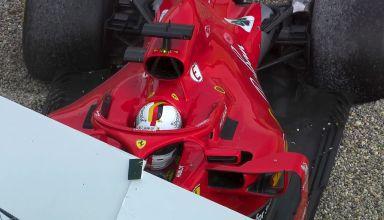 Sebastian Vettel Ferrari SF71H German GP F1 2018 crash race Photo Ferrari F1