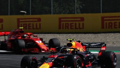 Verstappen leads Raikkonen Austrian GP F1 2018 Photo Red Bull
