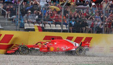 Vettel German GP F1 2018 crash Photo F1