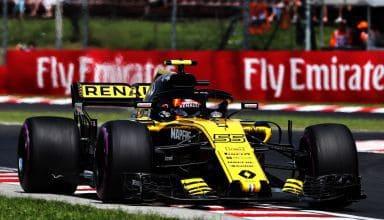 Carlos Sainz Renault RS18 Hungarian GP F1 2018 Photo Renault