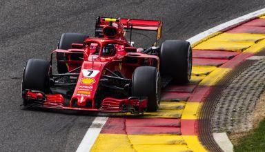 Kimi Raikkonen Ferrari SF71H Belgian GP F1 2018 Photo Ferrari
