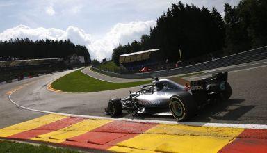Lewis Hamilton Mercedes Belgian GP F1 2018 Photo Daimler