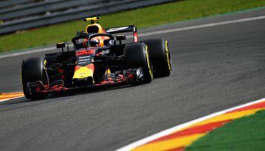 Max Verstappen Red Bull RB14 Belgian GP F1 2018 Photo Red Bull