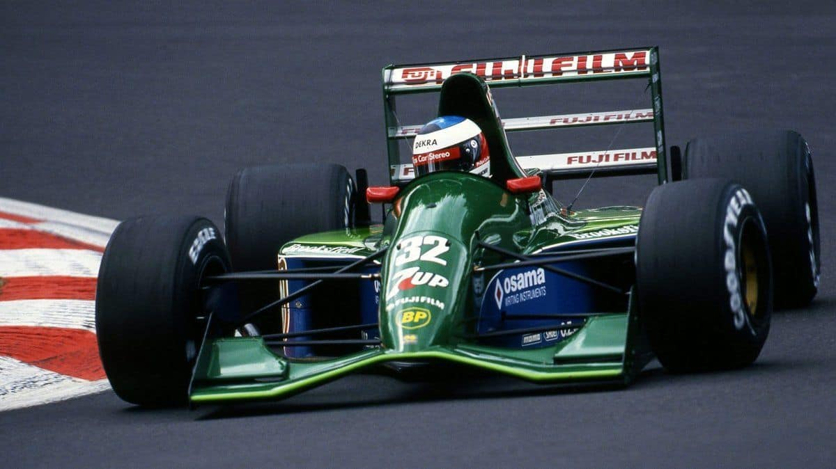 Michael Schumacher, 7UP Jordan 191 - Ford HBA4 3.5 V8