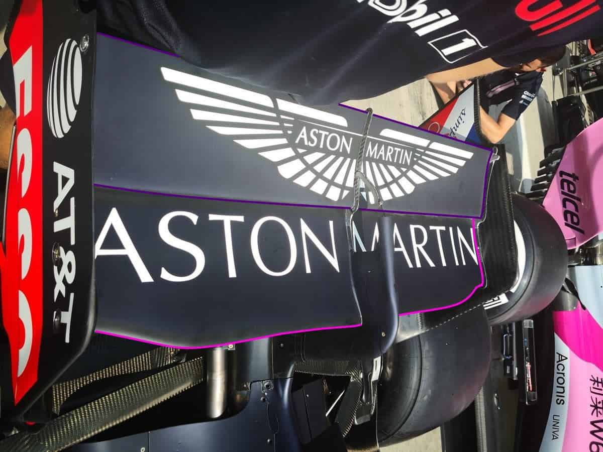 Red Bull RB14 Monza rear wing F1 2018 2