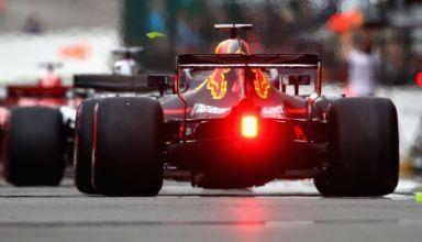 Ricciardo Red Bull RB14 rear end rake Belgian GP F1 2018 Photo Red Bull