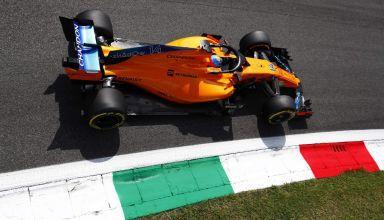 Alonso McLaren MCL33 F1 2018 Italian GP Parabolica Photo McLaren