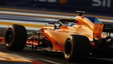 Alonso McLaren Singapore GP F1 2018 Photo McLaren