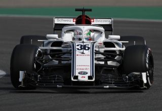 Antonio Giovinazzi Alfa Romeo Sauber C37 German GP F1 2018 FP1 Photo Sauber