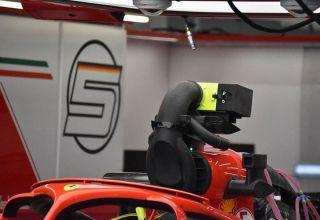 Ferrari SF71H cooling fan airbox camera blocking 2