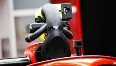 Ferrari SF71H cooling fan airbox camera blocking
