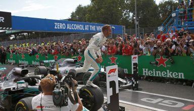 Hamilton Monza F1 2018 celebration