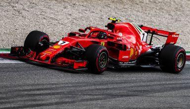 Kimi Raikkonen Ferrari SF71H Italian GP F1 2018 Photo Ferrari