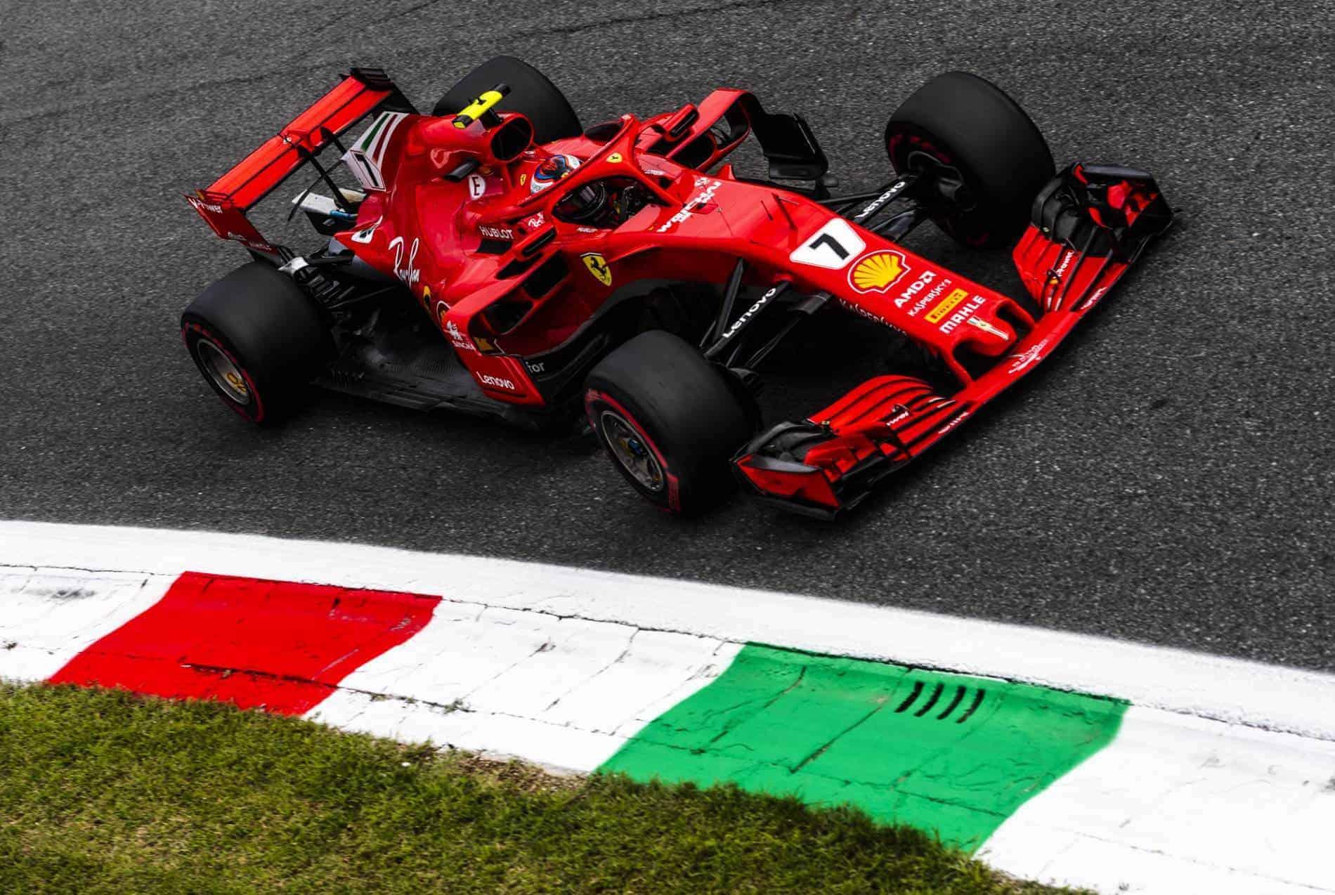 Kimi Raikkonen Italian GP F1 2018 Parabolica Photo Ferrari