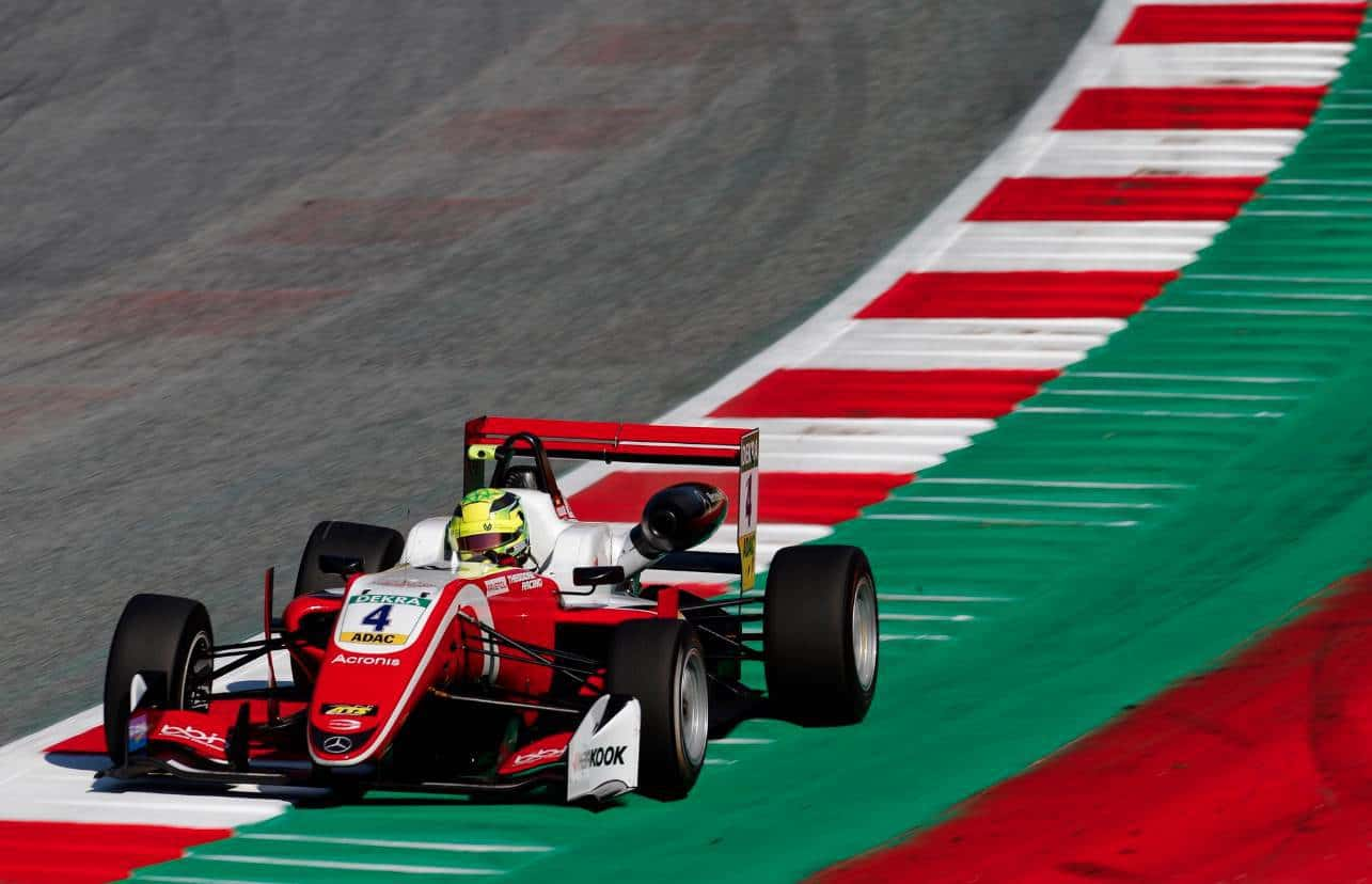 Mick Schumacher Red Bull Ring F3 2018 Photo Red Bull