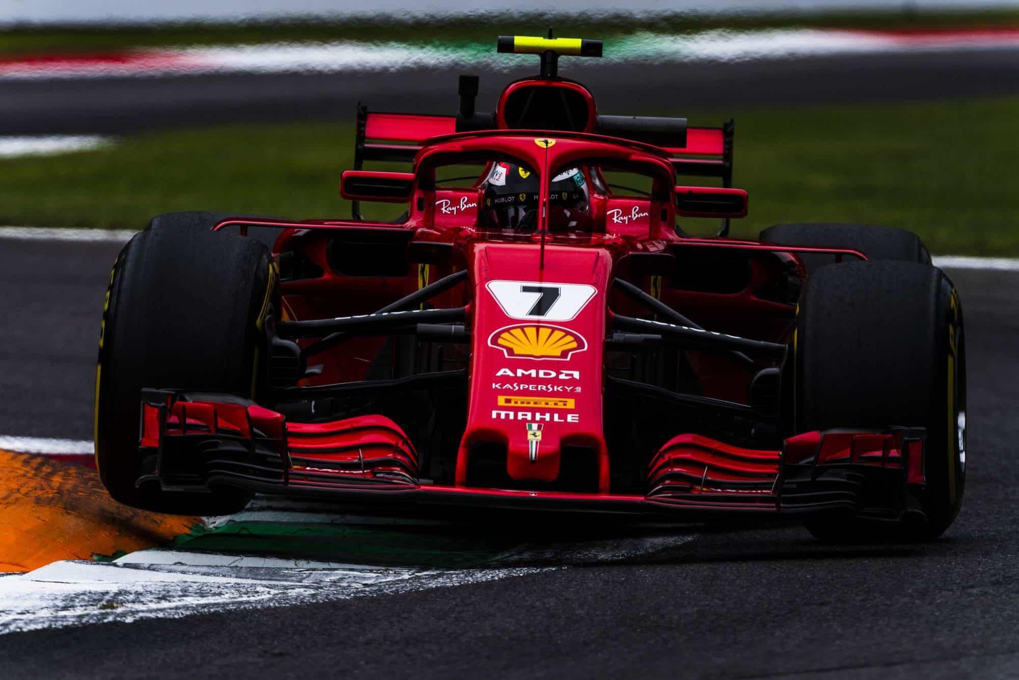 Raikkonen Ferrari Italian GP F1 2018 Monza Photo Ferrari