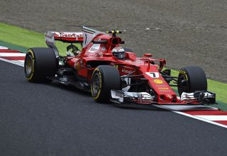 Raikkonen Ferrari SF70H Japanese GP F1 2017 Photo Ferrari