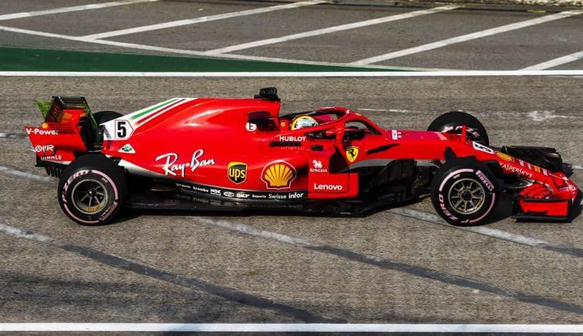 Vettel Ferrari SF71H Singapore GP F1 2018 Photo Ferrari