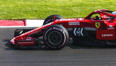 Ferrari SF71H front wheels brakes Mexican GP F1 2018 1500 holes brembo discs Photo Ferrari MAXF1net